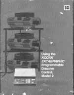 kodak ektagraphic programmable dissolve control model 2 owners rh texsales com Manual vs Automated Controls C a Manual Control Panell