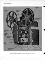 8mm Bell & Howell Projector Design 370 Lumina 1 2 Service and Parts Manual