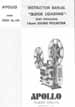 Apollo QL-100 16mm Sound Projector Owners Manual